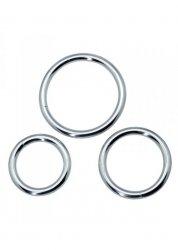 Timeless metal rings (3 pcs)