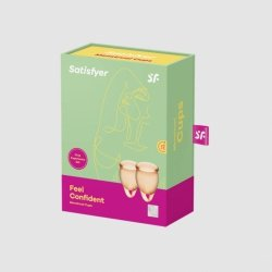Tampony - Feel Confident Menstrual Cup (orange)