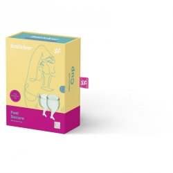 Tampony - Feel Secure Menstrual Cup (light green)