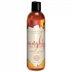 Środek nawilżający - Intimate Earth Natural Flavors Glide Naughty Nectarines 120 ml