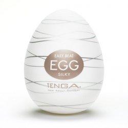 Japoński masturbator - Tenga Egg Silky 1szt