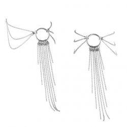 Łańcuszek na stopę - Bijoux Indiscrets Magnifique Feet Chain Silver