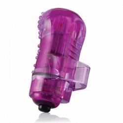 Wibrator na palec - The Screaming O The FingO Nubby Purple