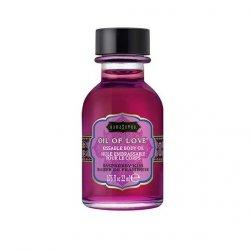 Olejek stymulujący - Kama Sutra Oil of Love Raspberry Kiss 22 ml