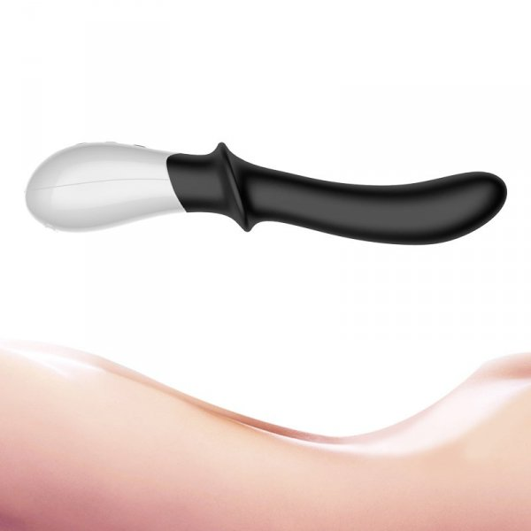 Wibrator-Silicone Prostate / G-spot Massager USB 10 Function / Heating