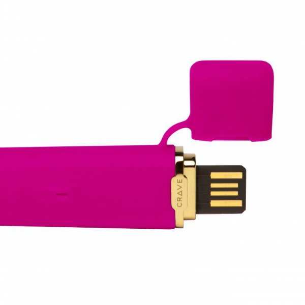 Wibrator - Crave Flex Vibrator Pink Różowy