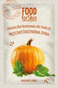 Marion Food for Skin Maseczka kremowa do twarzy - przeciwstarzeniowa Dynia  6ml