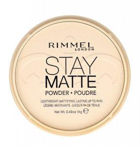 Rimmel Puder prasowany Stay Matte nr 001  14g