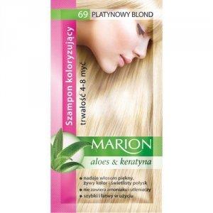 Marion Szampon koloryzujący 4-8 myć nr 69 platynowy blond