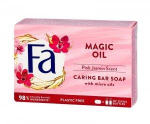 Fa Magic Oils Mydło w kostce kremowe Pink Jasmine 90g
