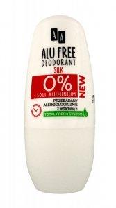 AA Dezodorant roll-on Alu Free Silk  50ml
