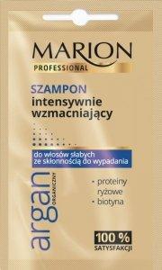 Marion Professional Argan Organiczny Szampon do włosów intensywnie wzmacniający 10g - saszetka