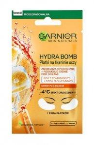 Garnier Skin Naturals Moisture+ Maska w płatkach pod oczy Orange Juice & Hyaluronic Acid  6g