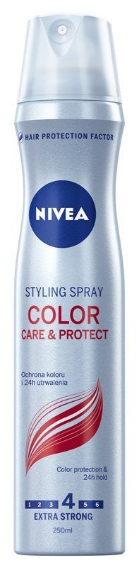 Nivea Hair Care Styling Lakier do włosów Color Care & Protect  250ml