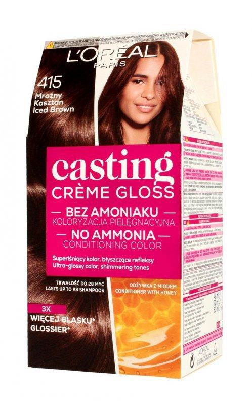 Casting Creme Gloss Krem koloryzujący nr 415 Mroźny Kasztan 1op.