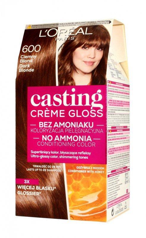 Casting Creme Gloss Krem koloryzujący nr 600 Ciemny Blond 1op.