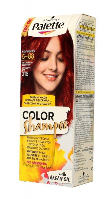 Palette Color Shampoo Szampon koloryzujący  nr 5-88 Intensywna Czerwień  1op.