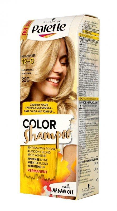 Palette Color Shampoo Szampon koloryzujący  nr 12-0 (320) Rozjaśniacz  1op.