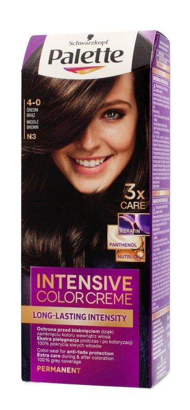 Palette Intensive Color Creme Krem koloryzujący nr N3-średni brąz  1op.