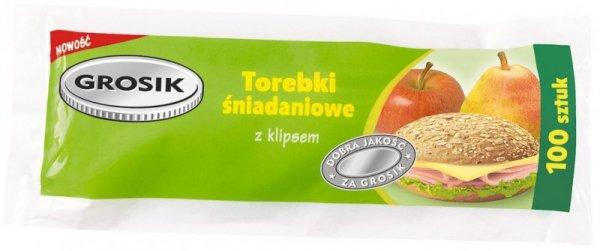 Sarantis Jan Niezbędny Grosik Torebki śniadaniowe 100szt