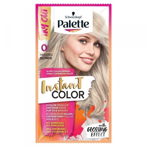 Palette Instant Color Szamponetka koloryzująca Mroźny Blond nr 0  1szt