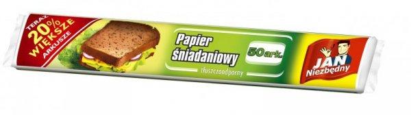 Sarantis Jan Niezbędny Papier śniadaniowy 50arkuszy