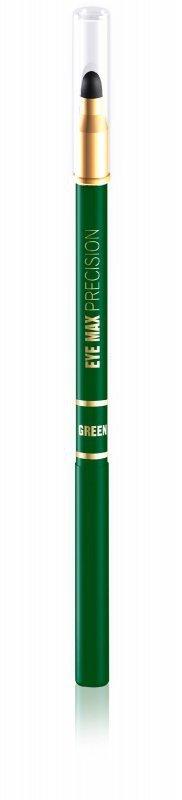 Eveline Eye Max Precision Kredka automatyczna z gąbką zielona  1szt