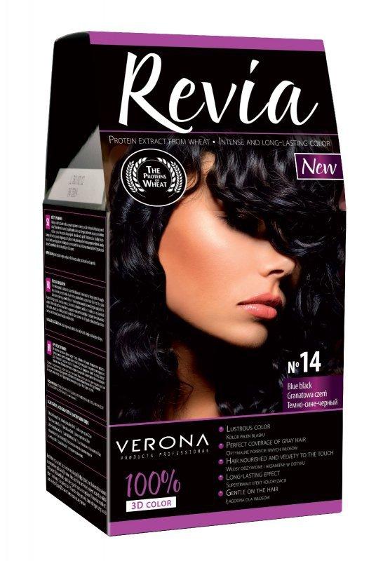 Verona Farba do włosów nr 14 GRANATOWA CZERŃ  50ml