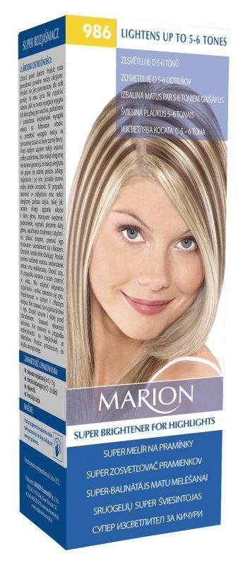 Marion Rozjaśniacz Super do pasemek 5-6 tonów nr 986