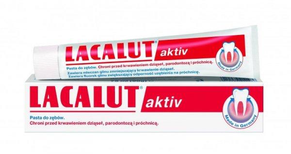 Lacalut Pasta do zębów Activ paradontoza 75ml