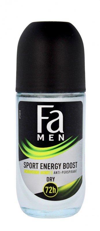 Fa Men Xtreme Sport Energy Boost 72H Dezodorant w kulce  50ml