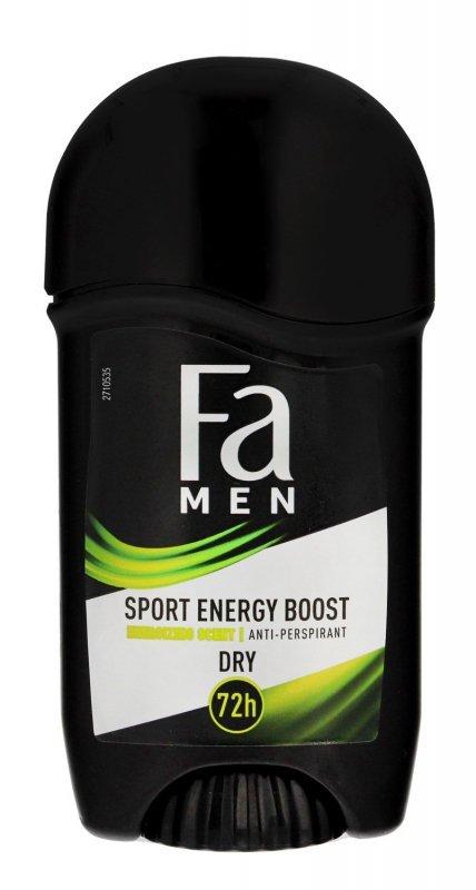 Fa Men Xtreme Sport Energy Boost 72H Dezodorant w sztyfcie 50ml