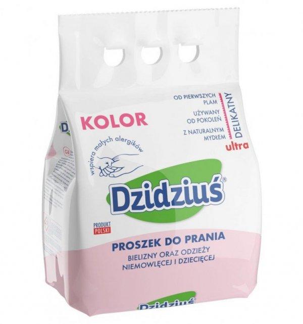 Dzidziuś Proszek do prania bielizny, odzieży niemowlęcej Kolor 3kg