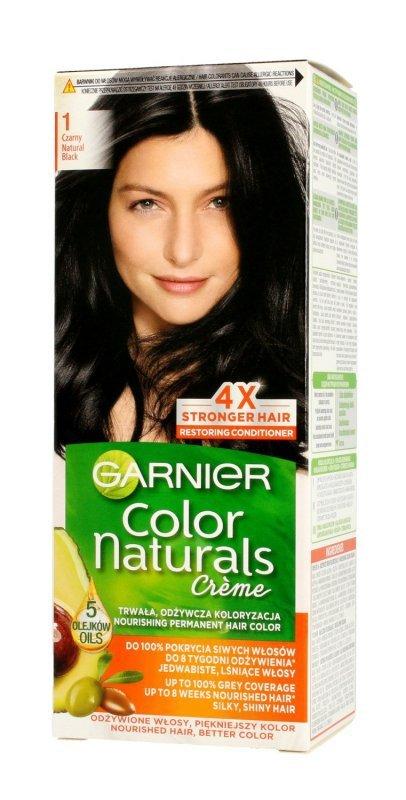Garnier Color Naturals Krem koloryzujący nr 1 Czarny 1op