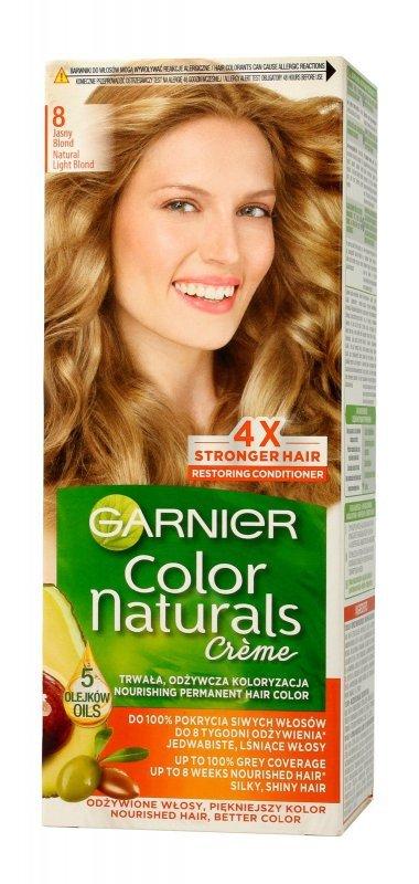 Garnier Color Naturals Krem koloryzujący nr 8 Jasny Blond 1op