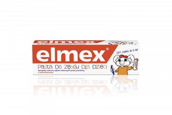 Elmex Pasta do zębów Dla Dzieci 0 do 6 lat  50ml