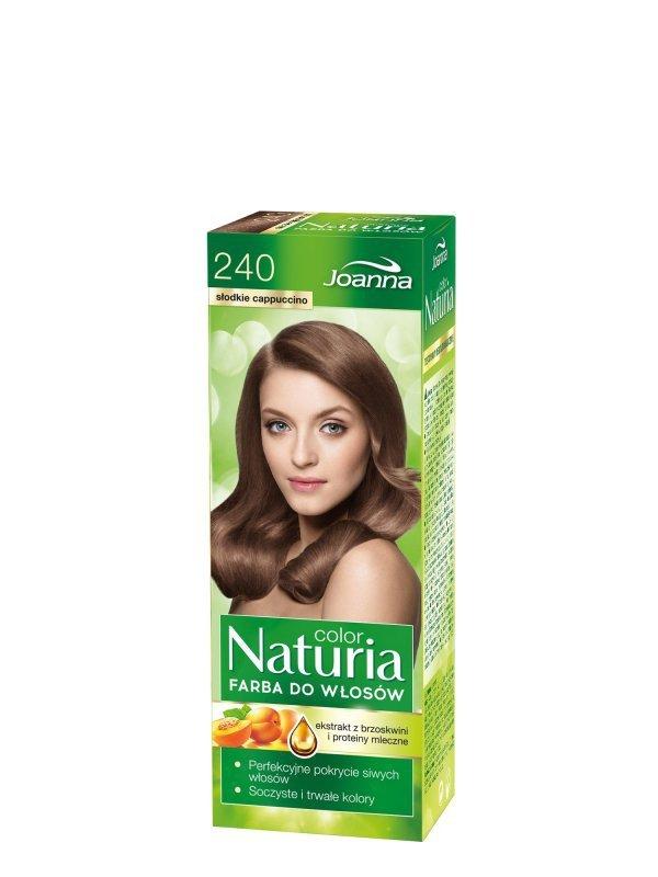 Joanna Naturia Color Farba do włosów nr 240-słodkie cappucino  150g