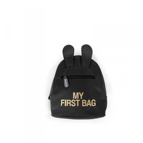 Childhome Plecak dziecięcy My First Bag Czarny