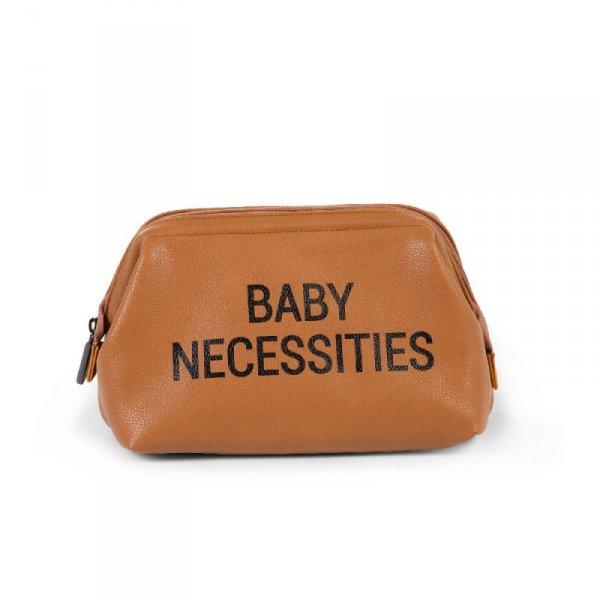 Childhome Kosmetyczka Baby Necessities Brązowa