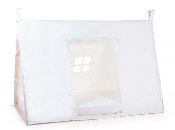 Childhome Poszycie do łóżka Tipi 90 x 200 cm White