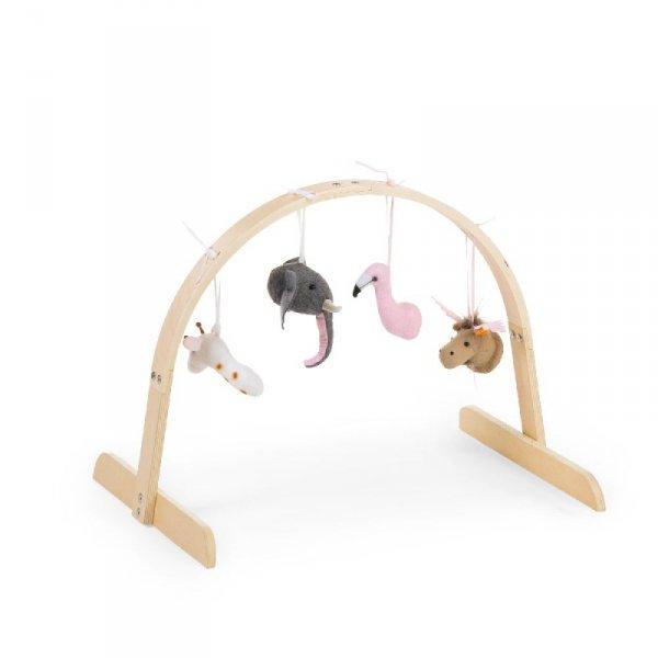 Childhome Rama na zabawki Baby Gym Natural
