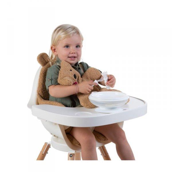 Childhome Zestaw obiadowy 3 el. z miseczką termiczną White/Frosted