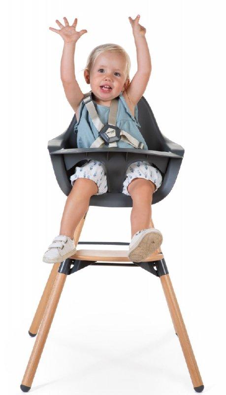 Childhome Krzesełko do karmienia Evolu 2 Natural/Anthracite