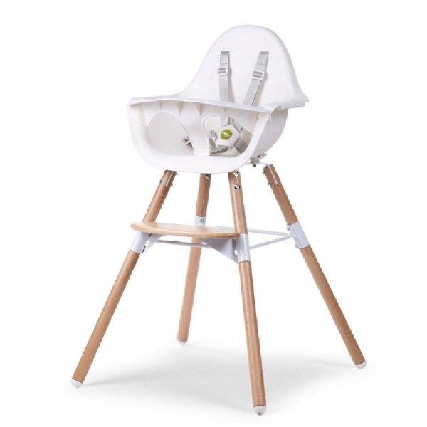 Childhome Krzesełko do karmienia Evolu 2 Natural/White