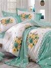 Hobby pościel bawełniana Alvis green  200x220