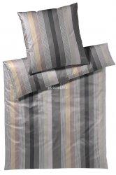 Joop pościel mako-satin Stripes stone 4093 200x220