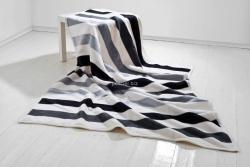 Moca desgin koc Stripes grey 150x200