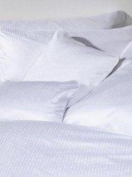 Exclusive Curt Bauer poszewka na poduszkę mako-żakardowa Splash biała