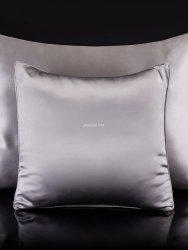 Malbery jedwabna poszewka na poduszkę silver 40x40, 40x60, 50x70, 70x80