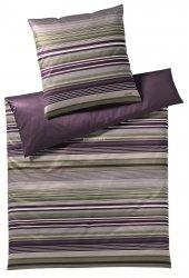 Joop pościel mako-satin Micro lines purple ivy 4099 200x220